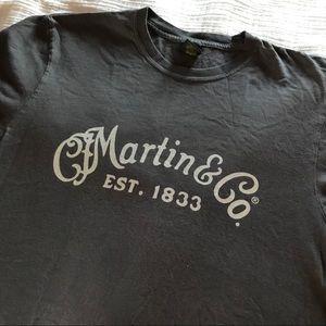 CF Martin & Co guitar Tee
